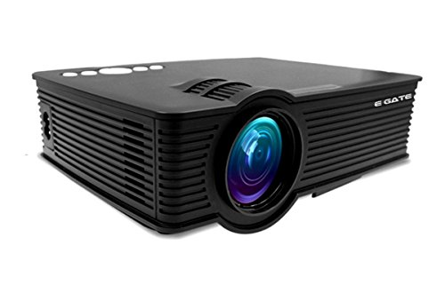 "EGATE i9 LED HD PROJECTOR (Black) - HD 1920 X 1080 – 120"" DISPLAY"