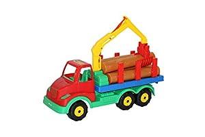 Polesie Polesie44099 Multitruck - Camión de Madera para Juguete