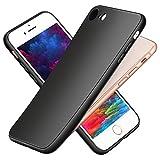 hülle für iPhone 8,hülle für iPhone 7,Ultra-Hochwertig Black TPU Bumper Handyhülle,Stoßfest,Kratzfeste,Dünn silikon Schutzhülle für iPhone7/8 Case Cove - Schwarz