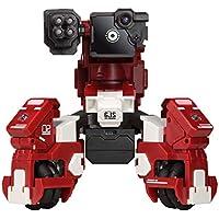 GJS el Robot de Combate geio FPS con reconocimiento Visual, Rojo