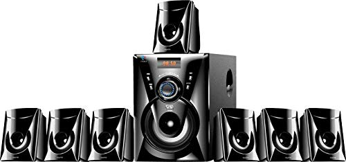 I Kall 7.1 Home Cinema Speaker System Multimedia with FM Stereo, Bluetooth, USB, AUX Function - TA777