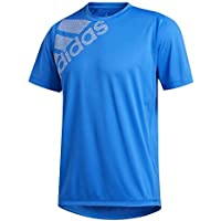 adidas FL_SPR GF Bos Camiseta, Hombre, Azuglo/Blanco, M