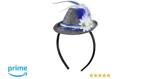 Unbekannt Donna Trachten Mini Cappello Bayern  Amazon.it  Giochi e  giocattoli bb3f5eeab4bb