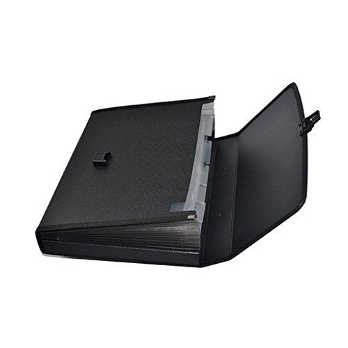 Liu Yu·Office Space, Fournitures de bureau A4 multi-couche mallette gris portable business package