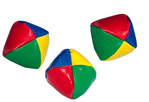 3 Stück Jonglierbälle Jonglieren Jonglage Jonglierball Beanbag Jonglier Bälle von SchwabMarken, 1 Stück