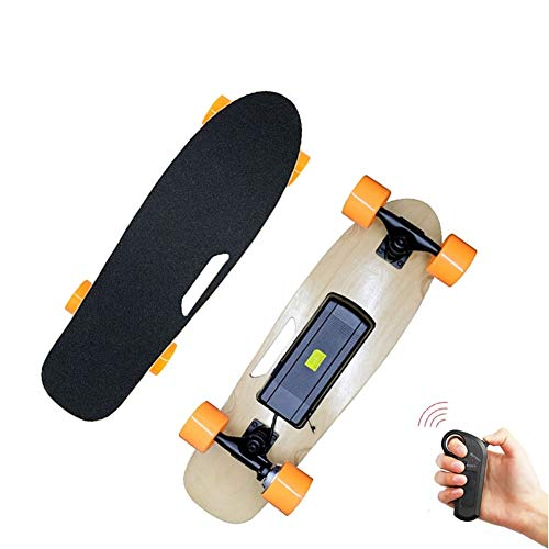 Enjoy4Fun- Vierrad-Boost elektrisches Skateboard drahtlose Fernbedienung Scooter Platten-Brett Hoverboard Einrad for Jugendliche/Anfänger/Jungen/Mädchen/Kinder/Erwachsene