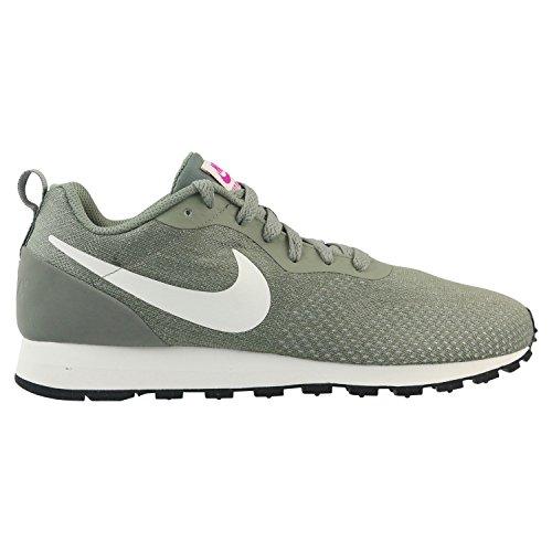 Womens Grau Schuh Nike (Nike Damen Mid Runner 2 Eng Sneaker, Grau (Dark Stucco/Sail-Hypr 002), 38.5 EU)