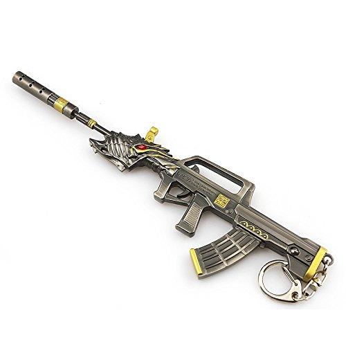Cross Fire Black Dragon 95 Rifle Keychain imitazione della pistola CF Armi pendente di chiave
