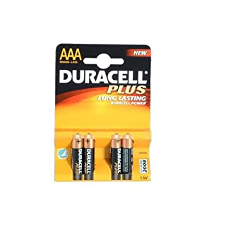 Duracell Plus MN2400 Alkaline AAA Batteries - 4-Pack