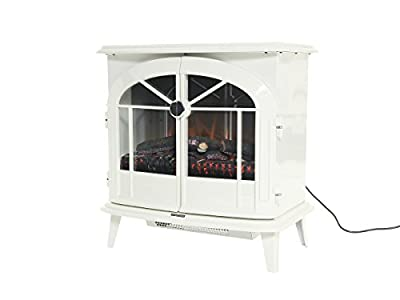 Dimplex Chevalier Free Standing 2kw Electric Stove Style Fire c/w Remote Control