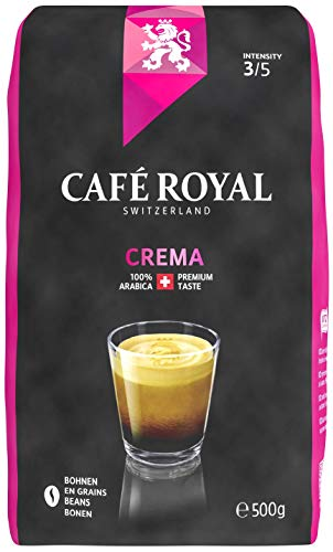 Café Royal Crema Bohnenkaffee, 6er Pack (6 x 500 g)
