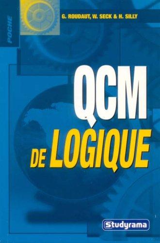 QCM de logique par William Seck, Hubert Silly