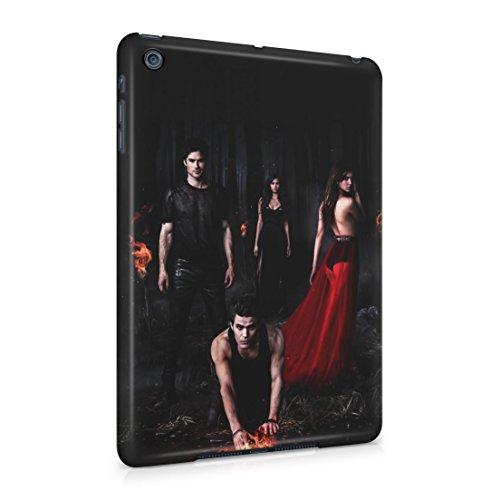 The Vampire Diaries Stefan, Damon & Elena In Forest Apple iPad Mini Hard Plastic Case Cover