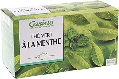 CASINO Thé Vert Menthe 25 Sachets