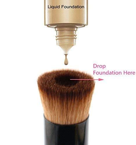 VELA Perfecting Face Brush Multipurpose Liquid Foundation Brush Premium Face Mak by vela -