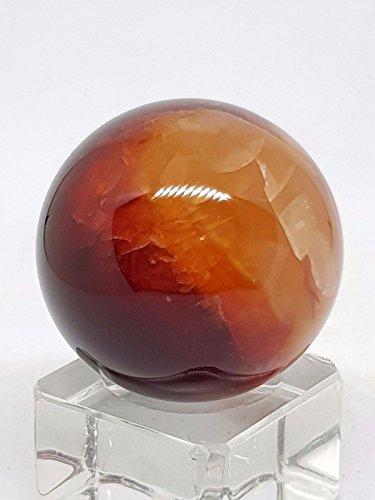 Mini pietra preziosa corniola sfera di cristallo sfera 60g grado nice madagascar