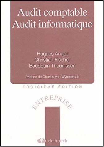 Audit comptable Audit informatique