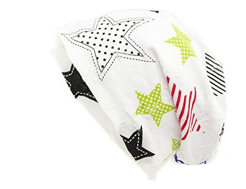 Shenky - Bonnet d'hiver réversible - Tricot - Motif imprimé Yeah Boy, Inscriptions