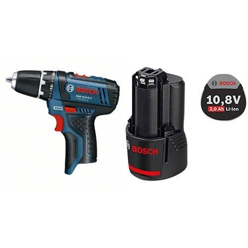 Bosch GSR 10.8-2-LI - Taladro eléctrico + GBA - Batería (10,8 V)