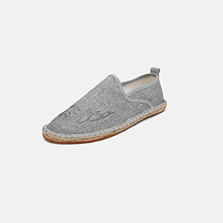 XUEQIN Herren Sandalen  Schnalle Slipper Schuhe  Sommer atmungsaktive Schuhe  Strandschuhe (Farbe : Grün  größe