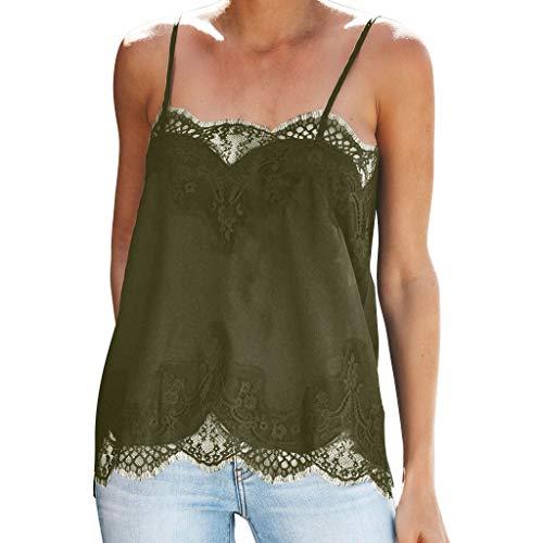 GREYF Damen Basic V-Ausschnitt Kurzarm T-Shirt mit Knöpfen Stretch Falten Süße Herz Print Tunika Allover Anker Druck Sommer Oberteile(L,Grün) -