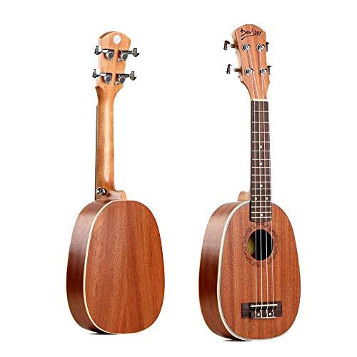 North King Ukulele 27 Zoll Ananas Typ Ukulele voll Sabillyuchrili Erwachsene Musikinstrumente