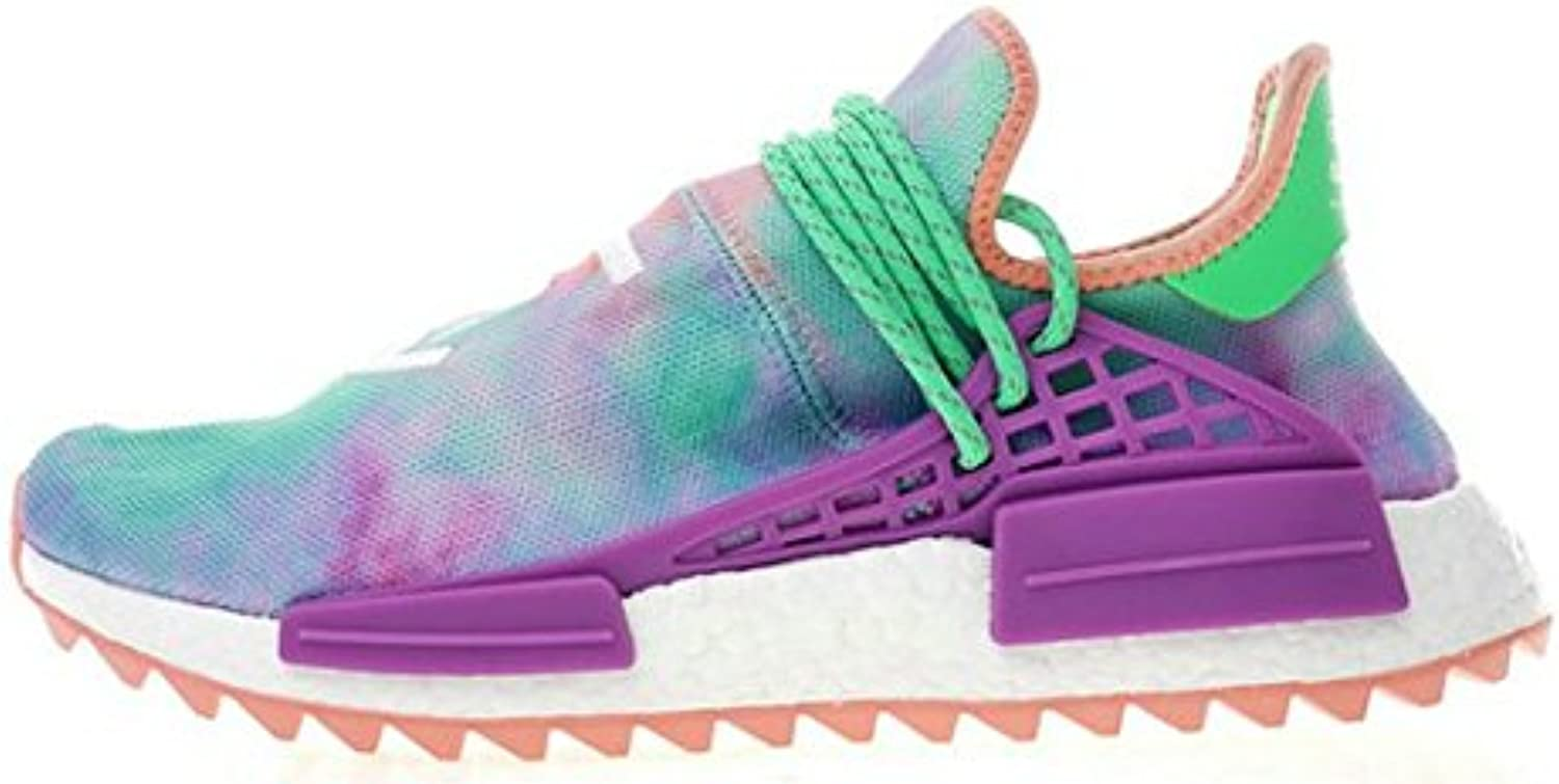 NewFASHION Pharrell X HU Race NMD Chalk Coral Green Lab Herren Damen Gymnastikschuhe