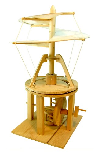 Leonardo Da Vinci Ornithopter Holzmodell Modellbau Echtholz Technik Baukasten