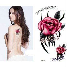 king-horse-large-size-1181-x-866-inches-waterproof-love-rose-new-big-design-temporary-tattoo-sticker