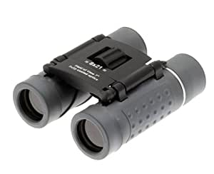 Binoculars Folding pocket size Clear Vision 8x21 Compact DCF 8x magnification. Quality optics. 10 Year warranty. Fully coated anti glare lenses. Ideal for Concerts, arena shows festivals feild sports birdwatching glasses lightweight travel binocular with case & neck cord. Easy fast focus.