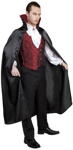 Boland 87482 - Erwachsenenkostüm gothischer Vampir, Hose, Oberteil und Umhang, Gröߟe M / L