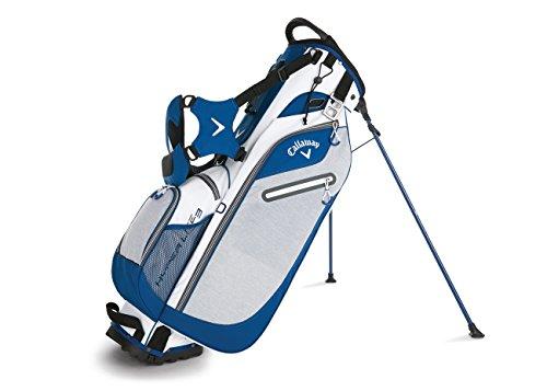 Callaway Hyper 3 Lite-Sacca da golf con treppiede, Unisex, Blanco / Azul marino / Negro