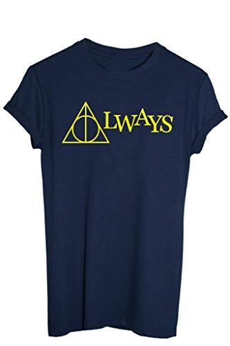 t-shirt-i-doni-della-morte-always-harry-potter-film-by-image-uomo-xl-blu-navy