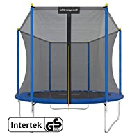 Ultrasport Outdoor Trampoline  Ø183 cm - Ø460 cm / max. 100 kg - 150 kg, Kids Trampoline, Gardentrampoline Complete Set Including Jumping Sheet, Safety Net and Edge Cover