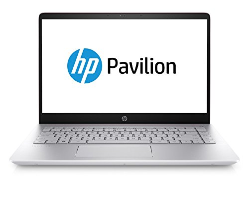 HP Pavilion 14-bf101ng 35,5 cm (14 Zoll Full HD) Notebook (Intel Core i5-8250U, 8GB RAM, 1TB HDD, 128GB SSD, NVIDIA GT 940MX 2GB, Windows 10 Home 64) silber/pink