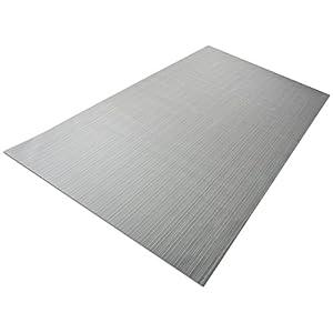 casa pura Design Bodenschutzmatte Bologna | Unterlegmatte für Fitnessgeräte | zuverlässiger Bodenschutz | 2 Größen