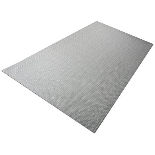 casa pura Design Bodenschutzmatte Bologna | Unterlegmatte für Fitnessgeräte | zuverlässiger Bodenschutz | 60x120cm