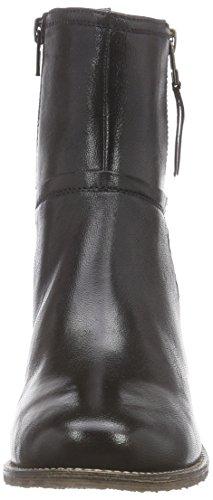 SPM Longines Damen Kurzschaft Stiefel Schwarz (Black)