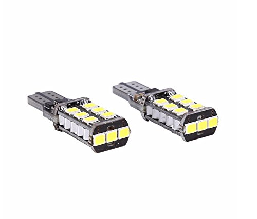 T15 W16 W 921 LED Canbus Extreme CREE 3535 Puce LED haute puissance ampoules Compatible avec T10 W5 W LED Auto ampoules Blanc 2 x