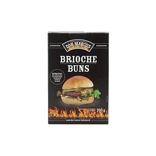 Don Marco's Barbecue Backmischung 350g für Brioche Buns, Backmischung