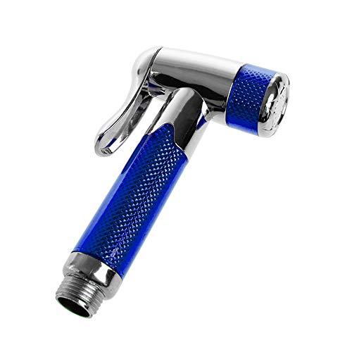 ZUEN Edelstahlhandheld Bidet Windeln Sprayer Dusche ABS Toile Wash Bad,Blue