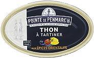 Thon à tartiner aux épices orientales Pointe de Penmarc'h le lot de 6 boîtes de 115 g - Livraison en 2 à 3