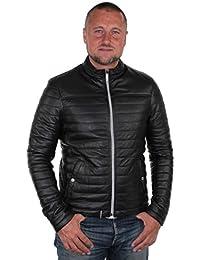 Oakwood - Blouson Oakwood Fabien en cuir ref_cco36536-noir