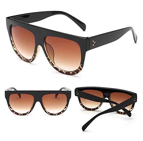 URIBAKY Gafas de sol Unisex Hombre Mujer Clásico Retro Cuadrado Polarizado para Viaje SJ2050