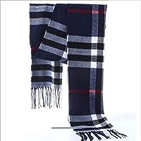 Xiaoyu scarf Bufanda otoño e Invierno Moda Hombres y Mujeres Bufanda algodón Bufanda Caliente (Color : G)