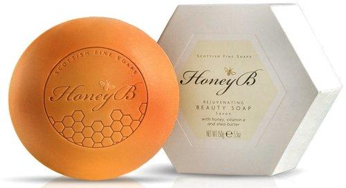 Scottish Fine Soaps Honey B 150g/5.3oz Rejuvenating Beauty Soap by Scottish Fine Soaps