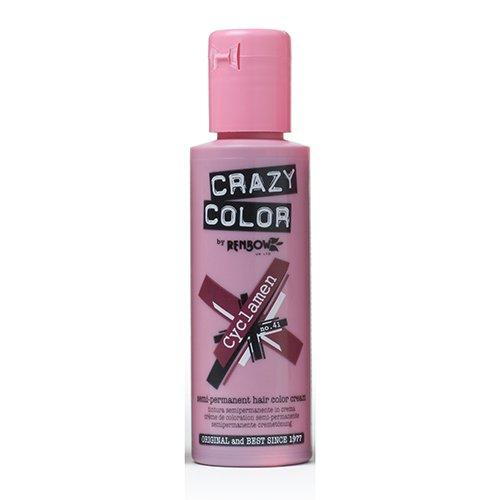 renbow-crazy-color-semi-permanent-hair-color-cream-cyclamen-no41-100ml