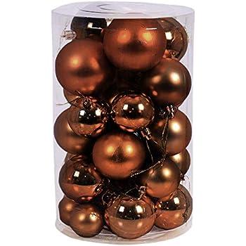 6 Pièces XL boules de Noël Sapin de Noël Boules décorations Fuchsia Ø 15 cm