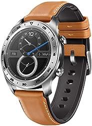 Honor Watch Magic (Moonlight Silver) 9.8mm Thickness & Lightweight Smart Watch, Personal Fitness Mentor, W