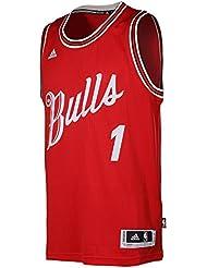 Adidas Chicago Bulls Derricks Rose 1 XMAS Swingman NBA Jersey Vest